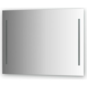Зеркало Evoform Ledline 100х75 см, с 2-мя встроенными LED- светильниками 10,5 W (BY 2119) зеркало evoform ledline 100х75 см со встроенным led светильником 7 w by 2107