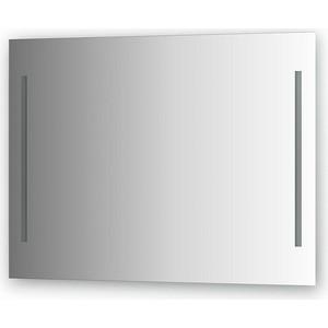 Зеркало Evoform Ledline 100х75 см, с 2-мя встроенными LED- светильниками 10,5 W (BY 2119) зеркало ellux linea led 100х70 см с 2 м встроенными led светильниками 12 w lin b2 9310