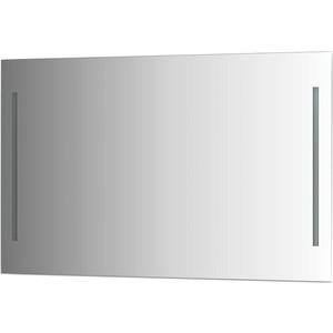 Зеркало Evoform Ledline 120х75 см, с 2-мя встроенными LED- светильниками 10,5 W (BY 2120) зеркало ellux linea led 100х70 см с 2 м встроенными led светильниками 12 w lin b2 9310