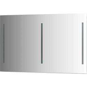 Зеркало Evoform Ledline 120х75 см, с 3-мя встроенными LED- светильниками 16 W (BY 2121) зеркало evoform ledline by 2121 120х75 см