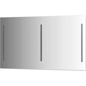 Зеркало Evoform Ledline 130х75 см, с 3-мя встроенными LED- светильниками 16 W (BY 2122) зеркало ellux linea led 100х70 см с 2 м встроенными led светильниками 12 w lin b2 9310