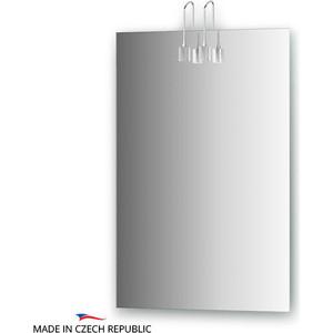 Зеркало Ellux Artic 50х75 см, с 2-мя светильниками 40 W (ART-A2 0205)
