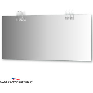 Зеркало Ellux Artic 160х75 см, с 6-ю светильниками 120 W (ART-A6 0219) зеркало с 8 ю светильниками 320 w 110х75 cm ellux rondo ron a8 9008