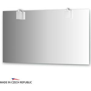 все цены на  Зеркало Ellux Bolero 130х75 см, с 2-мя светильниками 56 W (BOL-A2 0216)  в интернете
