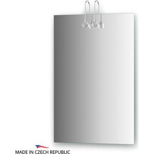 Зеркало Ellux Crystal 50х75 см, с 2-мя светильниками 40 W (CRY-A2 0205) зеркало ellux linea led 100х70 см с 2 м встроенными led светильниками 12 w lin b2 9310