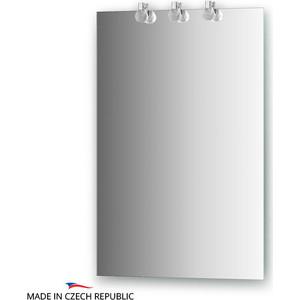 Зеркало Ellux Crystal 50х75 см, с 3-мя светильниками 60 W (CRY-B3 0205) зеркало ellux artic 50х75 см с 3 мя светильниками 60 w art a3 0205