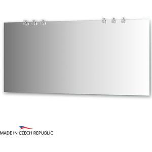 Зеркало Ellux Crystal 160х75 см, с 6-ю светильниками 120 W (CRY-B6 0219) зеркало ellux crystal 130х75 см с 3 мя светильниками 60 w cry a3 0216