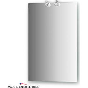 Зеркало Ellux Crystal 50х75 см, с 2-мя светильниками 40 W (CRY-D2 0205) зеркало ellux artic 50х75 см с 3 мя светильниками 60 w art a3 0205