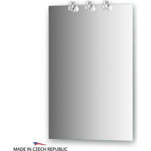 Зеркало Ellux Crystal 50х75 см, с 3-мя светильниками 60 W (CRY-D3 0205) зеркало ellux crystal 130х75 см с 3 мя светильниками 60 w cry a3 0216