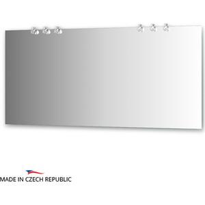 Зеркало Ellux Crystal 160х75 см, с 6-ю светильниками 120 W (CRY-D6 0219) зеркало ellux crystal 130х75 см с 3 мя светильниками 60 w cry a3 0216