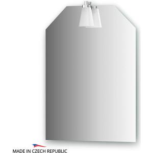 Зеркало Ellux Laguna 50х70 см, со светильником 28 W (LAG-A1 0117) цена