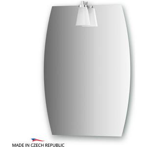 Зеркало Ellux Laguna 40/50х70 см, со светильником 28 W (LAG-A1 0141) цена