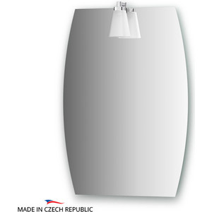 цены Зеркало Ellux Laguna 40/50х70 см, со светильником 28 W (LAG-A1 0141)