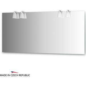 Зеркало Ellux Laguna 160х75 см, с 4-мя светильниками 112 W (LAG-A4 0219) цена