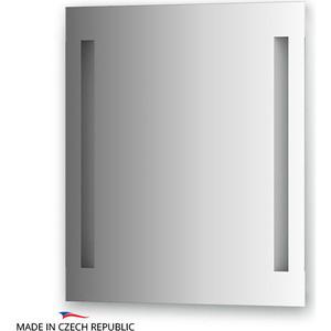 Зеркало Ellux Linea LED 60х70 см, с 2-мя встроенными LED- светильниками 12 W (LIN-A2 9116) зеркало ellux linea led lin a1 9130