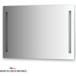Зеркало Ellux Linea LED 100х70 см, с 2-мя встроенными LED- светильниками 12 W (LIN-A2 9124) зеркало ellux linea led 100х70 см с 2 м встроенными led светильниками 12 w lin b2 9310