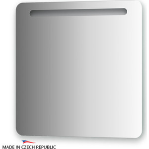Зеркало Ellux Linea LED 70х70 см, со встроенным LED- светильником 6 W (LIN-B1 9303) зеркало ellux linea led lin b2 9319