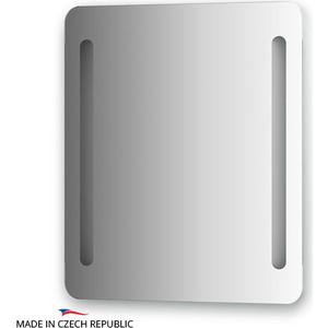 Зеркало Ellux Linea LED 60х70 см, с 2-мя встроенными LED- светильниками 12 W (LIN-B2 9302)
