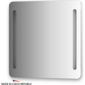 Зеркало Ellux Linea LED 70х70 см, с 2-мя встроенными LED- светильниками 12 W (LIN-B2 9304)