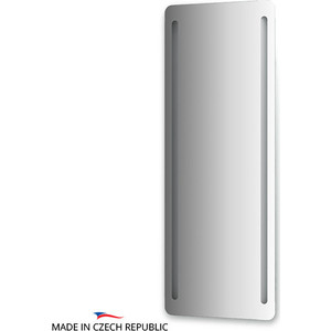 Зеркало Ellux Linea LED 60х160 см, с 2-мя встроенными LED- светильниками 28 W (LIN-B2 9320) зеркало ellux linea led lin a1 9130