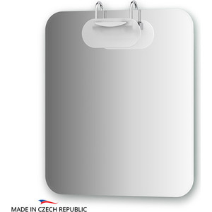 Зеркало Ellux Mode 60х70 см, со светильником 100 W (MOD-I1 0038) зеркало со светильником 100 w 60х70 cm mode ellux mod j1 0038