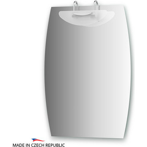 Зеркало Ellux Mode 50/60х85 см, со светильником 100 W (MOD-J1 0419) зеркало ellux mode 70х90 см со светильником 100 w mod j1 0020