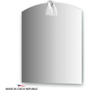Фотография товара зеркало Ellux Romance 60х75 см, со светильником 40 W (ROM-A1 0113) (570948)