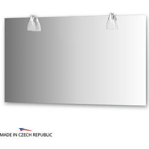 Зеркало Ellux Romance 130х75 см, с 2-мя светильниками 80 W (ROM-A2 0216) автомобильный коврик novline nlt 20 51 11 110kh hyundai i30 2012 5шт black