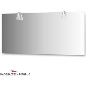 Зеркало Ellux Romance 160х75 см, с 2-мя светильниками 80 W (ROM-A2 0219) зеркало ellux linea led 100х70 см с 2 м встроенными led светильниками 12 w lin b2 9310