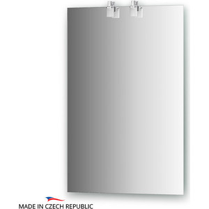 Зеркало Ellux Sonet 50х75 см, с 2-мя светильниками 40 W (SON-A2 0205) admlis ботинки