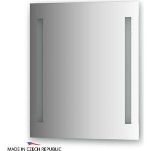Зеркало Ellux Stripe LED 60х70 см, с 2-мя встроенными LED- светильниками 12 W (STR-A2 9116) зеркало с 2 мя встроенными led светильниками 8 w 90х55 cm ellux stripe led str a2 9106
