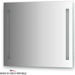 Зеркало Ellux Stripe LED 80х70 см, с 2-мя встроенными LED- светильниками 12 W (STR-A2 9120) зеркало ellux linea led 100х70 см с 2 м встроенными led светильниками 12 w lin b2 9310