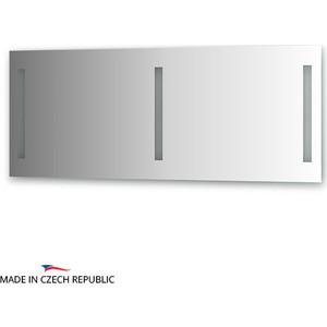 Зеркало Ellux Stripe LED 140х55 см, с 3-мя встроенными LED- светильниками 12 W (STR-A3 9110) зеркало ellux linea led 100х70 см с 2 м встроенными led светильниками 12 w lin b2 9310
