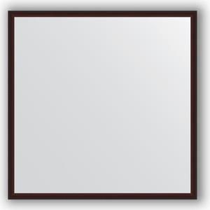 цена на Зеркало в багетной раме Evoform Definite 58x58 см, махагон 22 мм (BY 0604)