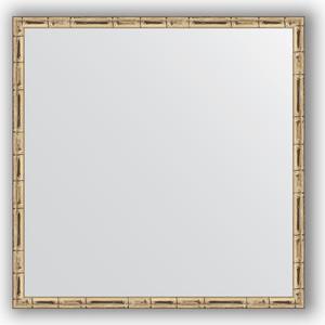Зеркало в багетной раме Evoform Definite 57x57 см, серебряный бамбук 24 мм (BY 0608) chkj серебряный 42 мм