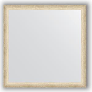 Зеркало в багетной раме Evoform Definite 60x60 см, состаренное серебро 37 мм (BY 0610) зеркало в багетной раме evoform definite 60x60 см состаренное серебро 37 мм by 0610