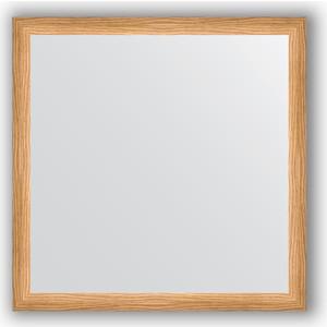 Зеркало в багетной раме Evoform Definite 60x60 см, клен 37 мм (BY 0612) зеркало в багетной раме evoform definite 60x80 см клен 37 мм by 0646