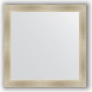 Зеркало в багетной раме Evoform Definite 64x64 см, травленое серебро 59 мм (BY 0615) зеркало в багетной раме evoform definite 64x64 см беленый дуб 57 мм by 0781