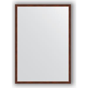 Зеркало в багетной раме поворотное Evoform Definite 48x68 см, орех 22 мм (BY 0620) зеркало в багетной раме evoform definite 58x108 см орех 22 мм by 0723