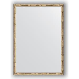 Зеркало в багетной раме поворотное Evoform Definite 47x67 см, серебряный бамбук 24 мм (BY 0625)