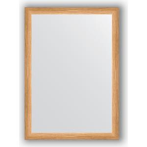 Зеркало в багетной раме поворотное Evoform Definite 50x70 см, клен 37 мм (BY 0629) зеркало в багетной раме evoform definite 60x80 см клен 37 мм by 0646