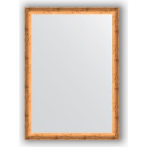 Зеркало в багетной раме поворотное Evoform Definite 50x70 см, красная бронза 37 мм (BY 0630) зеркало в багетной раме evoform definite 50x140 см состаренное серебро 37 мм by 0713