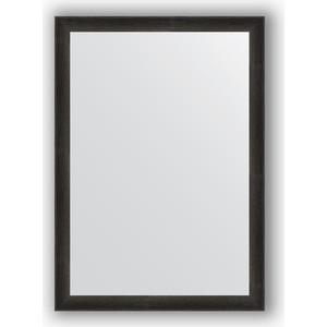 цены Зеркало в багетной раме поворотное Evoform Definite 50x70 см, черный дуб 37 мм (BY 0631)