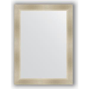 Зеркало в багетной раме поворотное Evoform Definite 54x74 см, травленое серебро 59 мм (BY 0632) зеркало в багетной раме поворотное evoform definite 74x154 см травленое серебро 59 мм by 0769