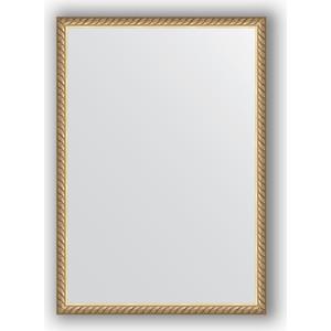 Зеркало в багетной раме поворотное Evoform Definite 48x68 см, витая латунь 26 мм (BY 0634) 0 68 0 48