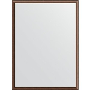 Зеркало в багетной раме поворотное Evoform Definite 58x78 см, орех 22 мм (BY 0637)