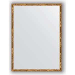 Фотография товара зеркало в багетной раме Evoform Definite 57x77 см, золотой бамбук 24 мм (BY 0643) (571210)