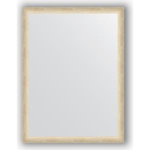 Зеркало в багетной раме поворотное Evoform Definite 60x80 см, состаренное серебро 37 мм (BY 0644) зеркало в багетной раме evoform definite 60x80 см клен 37 мм by 0646