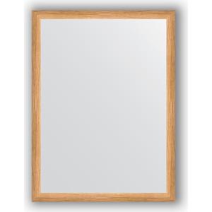 Зеркало в багетной раме поворотное Evoform Definite 60x80 см, клен 37 мм (BY 0646) зеркало в багетной раме evoform definite 60x80 см клен 37 мм by 0646