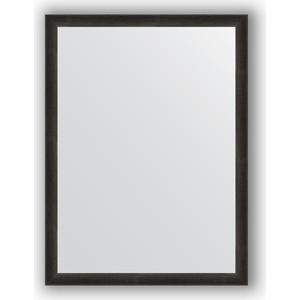 Зеркало в багетной раме поворотное Evoform Definite 60x80 см, черный дуб 37 мм (BY 0648) зеркало в багетной раме evoform definite 60x80 см клен 37 мм by 0646